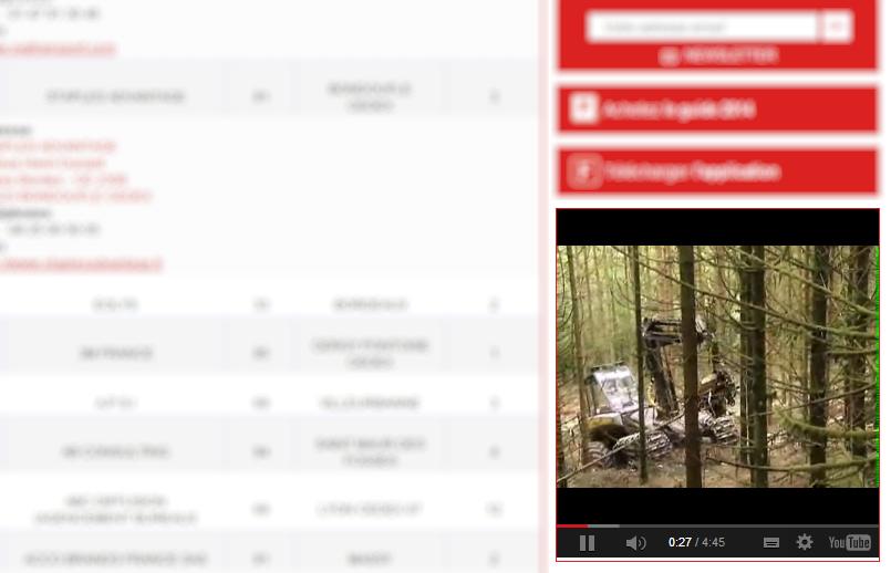 Vidéo dans colonne de droite - Facilities, site du Facility management